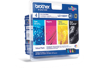BROTHER LC-1100HY Noir - Cyan - Magenta - Jaune