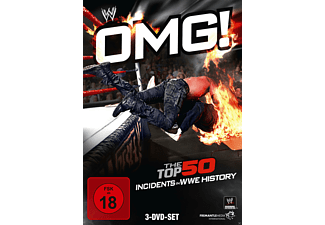 OMG!The Top 50 Incidents In WWE History - (DVD)