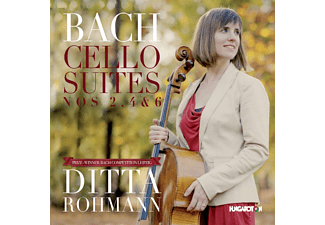 Ditta Rohmann - Cellosuiten 2, 4, 6 (CD)