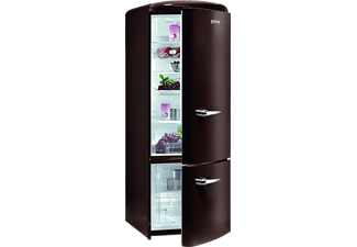 GORENJE RK60319OCH (Spektrum: A+++ - D) A++ Kühlgefrierkombination (A++, 205 kWh, 1700 mm hoch, Chocolate)