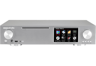 COCKTAIL AUDIO X30-L2000-S - AudioServer, Ripper und Player (App-steuerbar, Ja, über USB Adapter, Dunkelsilber)
