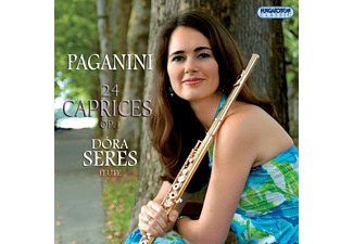 Seres Dóra - Paganini - 24 Caprices, Op. 1 (CD)
