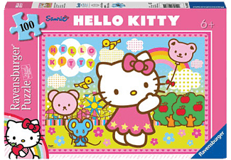 RAVENSBURGER Hello Kitty Super 100 Parça Puzzle