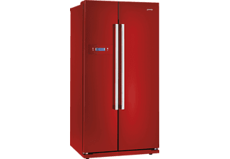 GORENJE NRS85728RD Side-by-Side (427 kWh/Jahr, A+, 1755 mm hoch, Rot)
