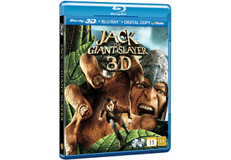 Jack the Giant Slayer Äventyr DVD