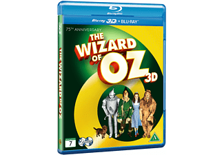 The Wizard of Oz Äventyr Blu-ray 3D
