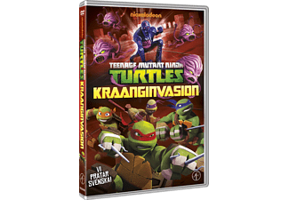 Teenage Mutant Ninja Turtles - Kraanginvasion Barn DVD