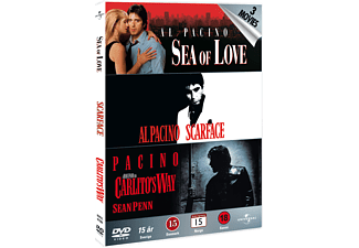 Sea of Love / Scarface / Carlito Way Box Action DVD