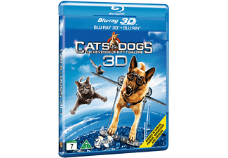 Som hund & katt: Kitty Galores hämnd Familj Blu-ray 3D