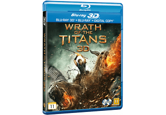 Wrath of the Titans Äventyr Blu-ray 3D