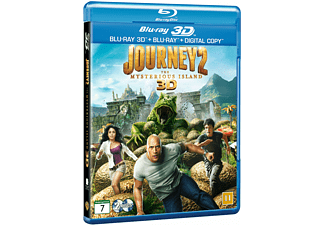 Journey 2: The mysterious island Äventyr Blu-ray 3D