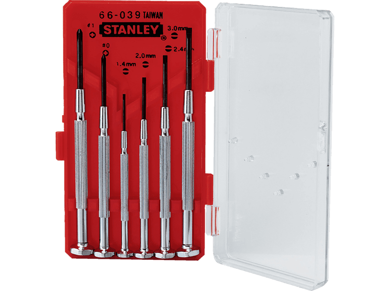 STANLEY Σετ κατσαβίδια ακριβείας - (1-66-039) οικιακές συσκευές   offline εργαλεία αξεσουάρ εργαλεία hobby   φωτογραφία φτιάξ