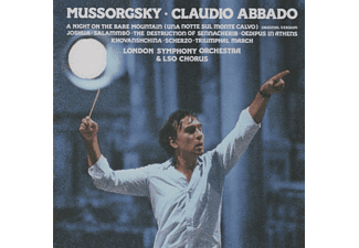 Claudio Abbado - Mussorgsky: Symphonic Works (Remastered) [CD]
