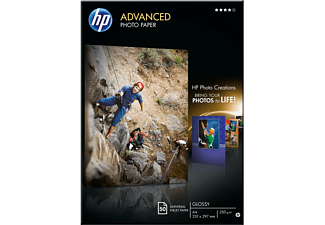 HP Q8698A Advanced Glanzend A4 fotopapier