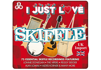 Variuos - I Just Love Skiffle [CD]