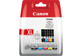 CANON 550XL + 551 Multipack