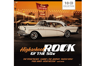 VARIOUS - Highschool Rock Of The 50's - (CD)