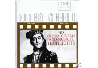 Robert Merrill - Robert Merrill-Opera, Cinema & Musical Highlights - (CD)