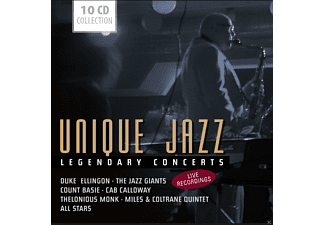 VARIOUS - Unique Jazz - Legendary Concerts - (CD)