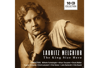 Lauritz Melchior, VARIOUS - Lauritz Melchior-The King Size Hero [CD]