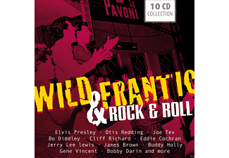 VARIOUS - Wild & Frantic - Rock'n'roll - (CD)