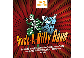 VARIOUS - Rock-A-Billy Rave [CD]