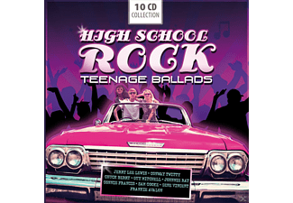 VARIOUS - High School Rock - Teenage Ballads - (CD)