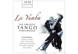 VARIOUS - La Yumba-The greatest TANGO performers [CD]