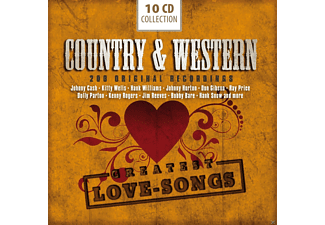 VARIOUS - Country + Western-200 Greatest Love Songs [Box-Set] [CD]