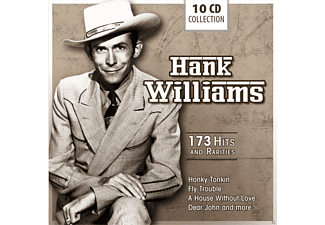 Hank Williams - 173 Hits And Rarities (10 Cd Box) [CD]