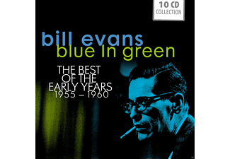 Bill Evans - Blue In Green - The Best Of The Early Years 1955-1960 (10 Cd Boxx) - (CD)