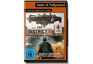 DISTRICT 9/WORLD INVASION - BATTLE LOS ANGELES [DVD]