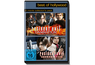 Resident Evil: Degeneration / Resident Evil: Damnation (Best Of Hollywood) - (DVD)