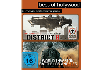 District 9 / World Invasion: Battle Los Angeles (Best Of Hollywood) - (Blu-ray)