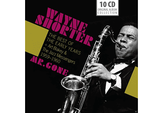 "Wayne Shorter - ""mr. Gone"" - The Best Of The Early Years + Art Blakey & The Jazz Messengers (1959-1960) [CD]"