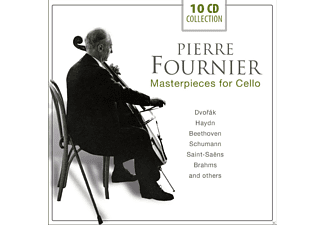 Pierre Fournier, Various Orchestras - Pierre Fournier - Masterpieces For Cello - (CD)