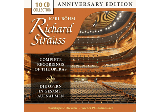 Karl Böhm, Staatskapelle Dresden, Wiener Philharmoniker - Richard Strauss: Complete Recordings Of His Operas [CD]