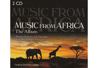 Miriam Makeba, The Swahilis, Miombo Drums - Music from Africa-The Album - (CD)