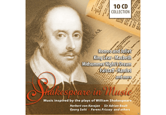 VARIOUS - Shakespeare In Music [CD]
