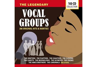VARIOUS - The Legendary Vocal Groups - 200 Hits & Rarities [CD]