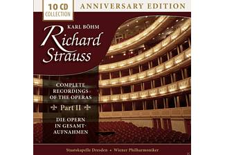 Wiener Philharmoniker, Staatskapelle Dresden, Orchester Der Wiener Staatsoper - Richard Strauss - Complete Recordings Of The Operas Part II [CD]
