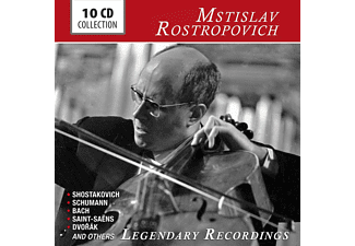 Mstislav Rostropovich - Legendary Recordings [CD]