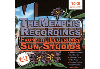 VARIOUS - The Memphis Recordings - From The Legendary Sun Studios - Vol.2 [CD]