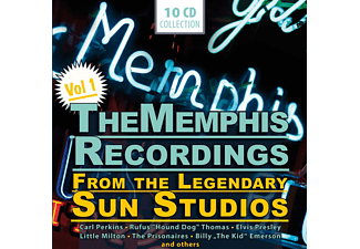 VARIOUS - The Memphis Recordings Vol.1 [CD]