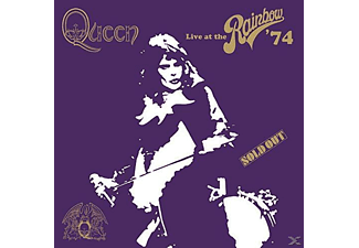 Queen - Live At The Rainbow (Limited Super Deluxe Boxset) [CD + Blu-ray + DVD]