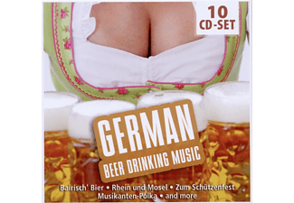 Various - German Beerdrinking Music [CD]