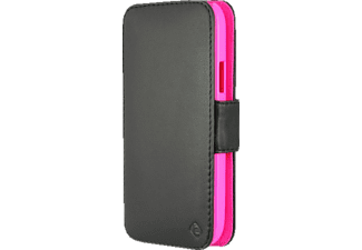 0058 Touch Case Bookcover HTC One mini 2 Polycarbonat/Echtleder Nappa Pink