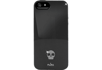 PURO PU-005403 Back Case Skull, Backcover, iPhone 5/5S, Schwarz