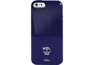 PU-005407 Backcover Apple iPhone 5, iPhone 5s Polycarbonat Blau