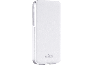 PURO PU-005385 Flip Case, Flip Cover, iPhone 5, iPhone 5s, Weiß